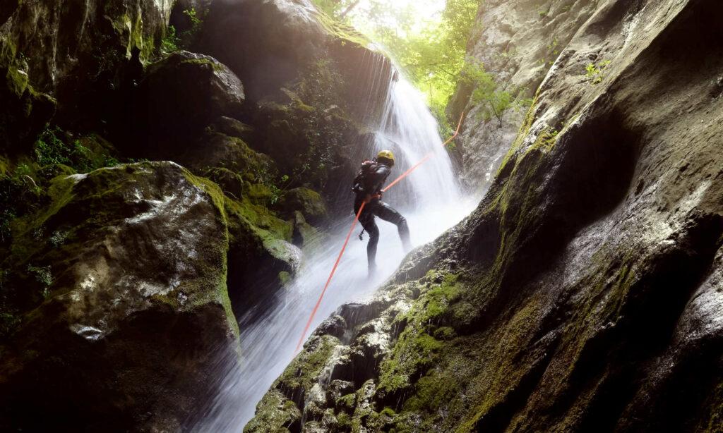 canyoning tra Storo e Ledro sport